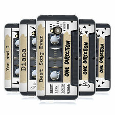 OFFICIAL ONE DIRECTION 1D CASSETTES MIDNIGHT MEMORIES SOFT GEL CASE FOR HTC ONE