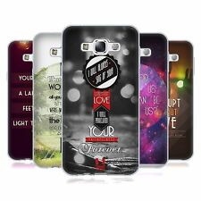 HEAD CASE CHRISTIAN TYPOGRAPHY SERIES 1 GEL CASE FOR SAMSUNG GALAXY E7 E700H 3G