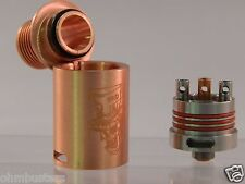 MAD HATTER Style Atomizer Clone by SXK  RDA RBA Atty COPPER HIGH QUALITY