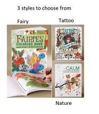 3 styles to choose from detailed art drawing Adult Coloring book color book
