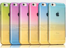 COQUE MULTICOLORS★ SLIM  SILICONE★ TRANSLUCIDE★ POUR APPLE IPHONE