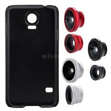3in1 Lens 180°Fisheye 0.67X Wide Angle 10X Macro Case for Samsung Galaxy S5 WP