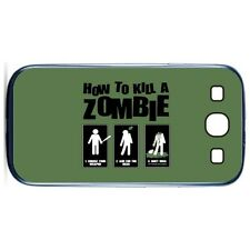 New How 2 Kill A Zombie Case Cover for Samsung