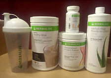 NEW HERBALIFE FORMULA 1, PERSONALIZED PROTEIN, ALOE, TEA & SHAKER- FREE SHIPPING
