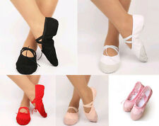 Women's Ballet / Belly Dance Shoes Slippers  5 Colors Size 23-42 brand new
