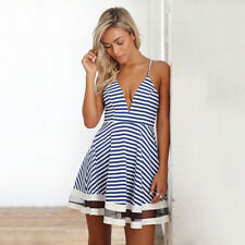 New Mini Summer Sexy Women Sleeveless Party Dress Evening Cocktail Casual Dress