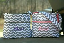 Chevron Diaper Bag Personalized