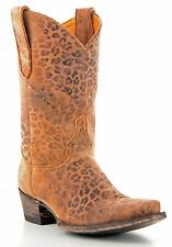 Womens Old Gringo Leopardito Hand Made Western Leather Cowboy Boots [ON SALE]