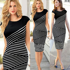 Sexy Women Bodycon Business Bandage Cocktail Evening Party Summer Pencil Dress