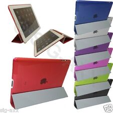 MAGNETIC front + back SLIM SOTTILE PELLE CASE STAND COVER PER APPLE IPAD AIR 2 / 6