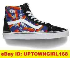 Vans Van Doren SK8 Hi Mens Skate Shoes Old School Black/Tropic Print New in Box
