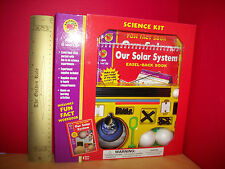 BRIGHTER CHILD Science Activity KIT Space Solar System Model Experiment Book Set