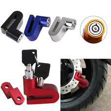 Scooter Bicycle Motorcycle Safety Anti-theft Disk Disc Brake Rotor Wheel Lock