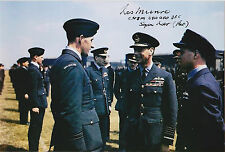 Les Munro Signed 4x6 Inch Photo WW2 Dambusters D-Day Normandy 617 Squadron RAF