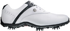 FootJoy Womens LoPro Golf Shoes 97181 White/Black Ladies Closeout New