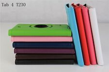 360 Rotating Folio Stand Leather Case Cover For Samsung Galaxy Tab 4 T230