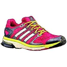 adidas adiStar Boost - Women's Running Shoes (Bold PK/WT/Frozen YL Width:Medium)