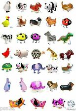 Walking Pet Globo Animal Airwalker Foil Globo Helio Niños Divertidas Fiestas