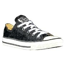 Converse All Star Ox - Boys' Preschool Basketball Shoes (Black)