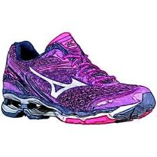 Mizuno Wave Creation 17 - Women's Running Shoes (Pansy/WT/Electric Width:Medium)