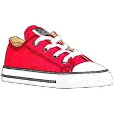 Converse All Star Ox - Boys' Toddler Basketball Shoes (Red)