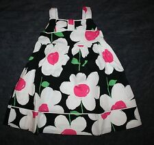 New Gymboree Daisy Park Flower Print Bow Dress NWT 2T 3T 4T 5T Toddler Girl