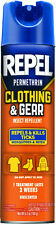 Repel Permethrin Clothing and Gear Insect Repellent Aerosol Can 6.5 oz