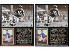Frank Gifford #16 New York Giants Legend NFL Photo Plaque NFL Champion
