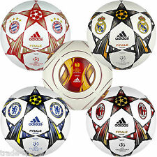 adidas CHAMPIONS LEAGUE FOOTBALLS CAPITANO FINALE OFFICAL BALL SIZE 1 - 5 NEW