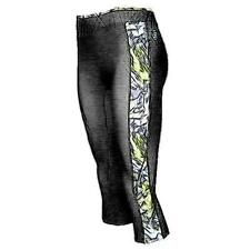 SKINS A200 Compression Tights - Women's Running Clothing (Black/Acid Print)