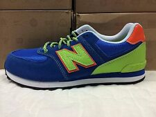 NEW BOYS GRADE SCHOOL YOUTH NEW BALANCE KL574 C1G SNEAKERS-SHOES-VARIOUS SIZES