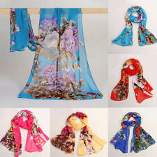 Big Promotion 2015 New Women Scarf Long Chiffon Scarf Wrap Summer Cover up Shawl
