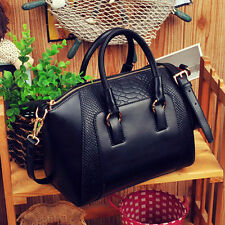 New Design Women Satchel Shoulder Crossbody Bag PU Leather Tote Handbag