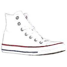 Converse All Star Hi - Men's Basketball Shoes (Optical White Width:Medium)