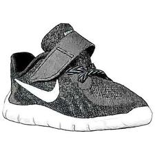 Nike Free 5.0 2015 - Boys' Toddler Running Shoes (BK/DK GY/Cool GY/WT)