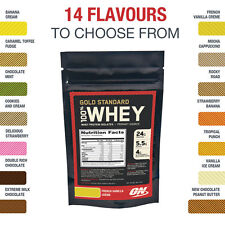 Optimum Nutrition Gold Standard 100% Whey Protein 7 Day Sample Trial Pack
