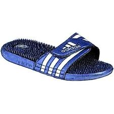 adidas Adissage Slide - Men's Casual Shoes (New Navy/White Width:Medium)