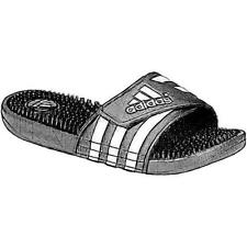 adidas Adissage - Women's Casual Shoes (Black/Core White Width:Medium)