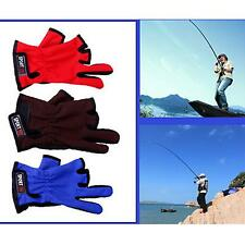 1 Pair High Quality Professional Fishing Gloves Outdoor Sports Anti-Slip Gloves