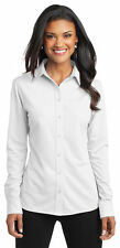 Port Authority Ladies Dimension Knit Dress Shirt NEW XS-4XL L570