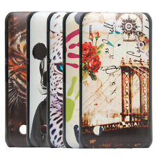 New Colorful Plastic Case Back Cover for Nokia Lumia 530 Protective Skin Shell