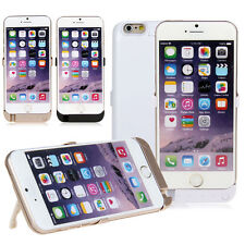 """External Power Bank Case Backup Battery Cover Charger for iPhone 6 6S 4.7"""" 5.5"""""""