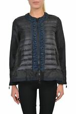 """Moncler """"Alexis Giubbotto""""  Black With Down Insulated Front Jacket Sz 0 1 2"""