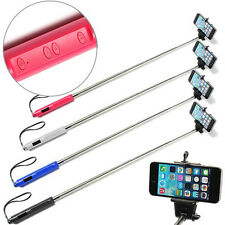 Bluetooth Extendable Handheld Selfie Stick Monopod W/ Zoom For Iphone 6 5 5S HTC