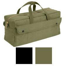 Heavy Duty Jumbo Mechanics Brass Zipper Tool Bag