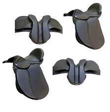 New Leather GP All Purpose Leather Treeless Black AND Brown English Saddle