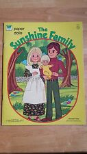 SUNSHINE FAMILY PAPER DOLLS UNCUT COMPLETE FREE SHIPPING