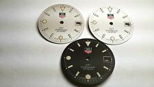Tag Heuer 28 mm GMT Professional DIAL (1 lot of 3 pcs) - white, black, off-white