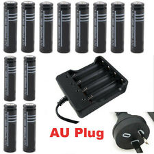 2/4/6/8/10x 3.7V 18650 RECHARGEABLE BATTERY FLASHLIGHT / AU CHARGER