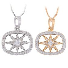 Charm Swarovski crystal pendant chain gold filled Classical  lady long necklace
